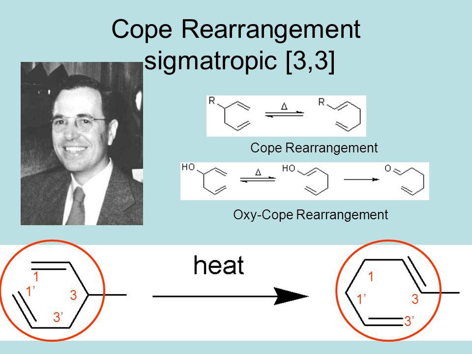Cope Rearrangement sigmatropic [3,3]